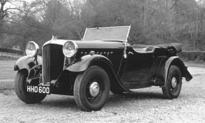An early 1932 model Essex Terraplane