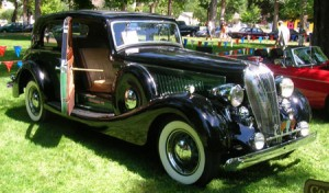 1936 Hudson 8 cylinder Special Sports Saloon